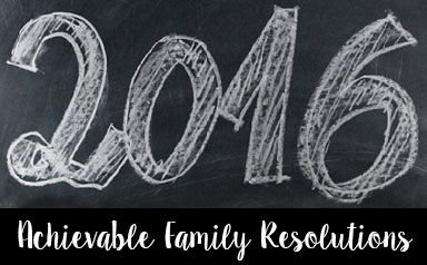 Family Blog -  2016 Resolutions